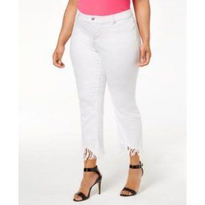 INC International Concepts Plus Mid Rise Jeans